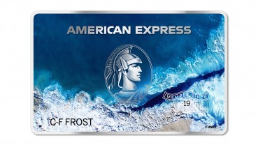 American Express: the first recycled plastic card