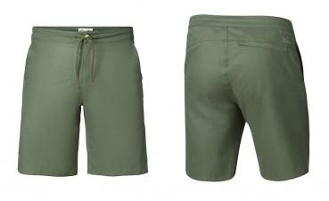 Pantaloncini in canapa e cotone organico