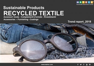 SUSTAINABLE: SUSTAINABLE PRODUCTS: TESSUTI RICICLATI