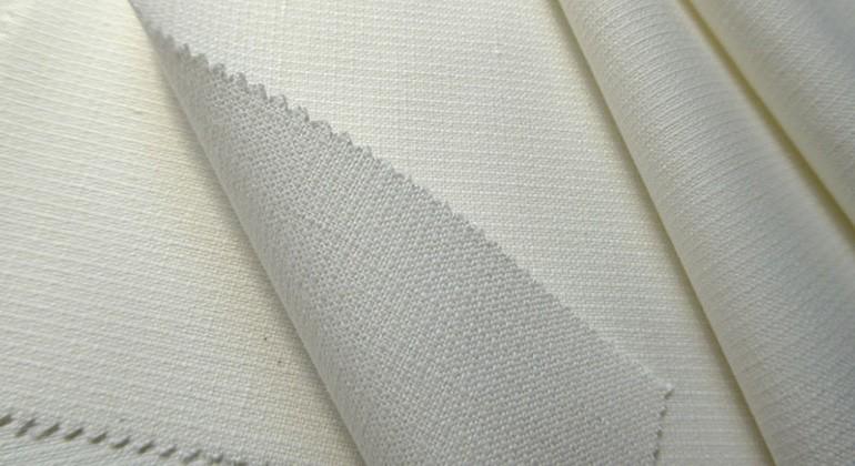 Hemp and cotton fabric