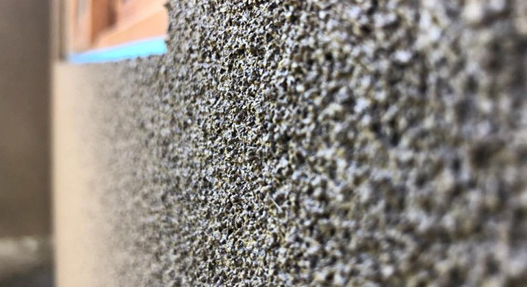 Cork particles material
