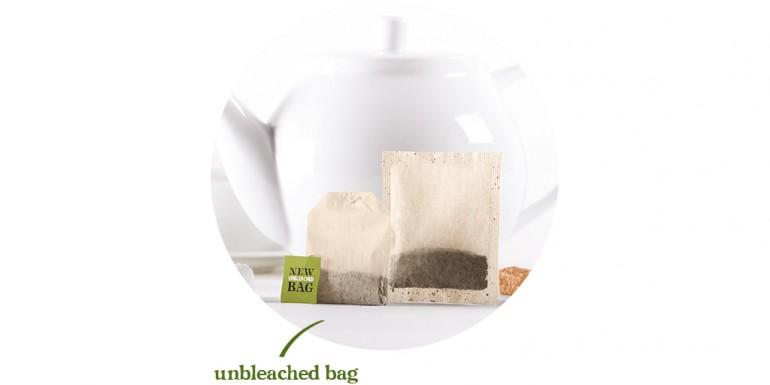 Bustine per il tè realizzate con abaca e altre fibre vegetali