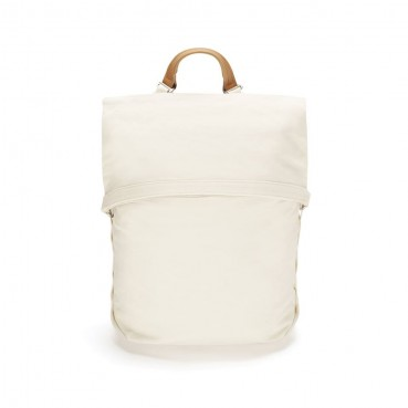 Backpack and fashion accessories made of natural fabric