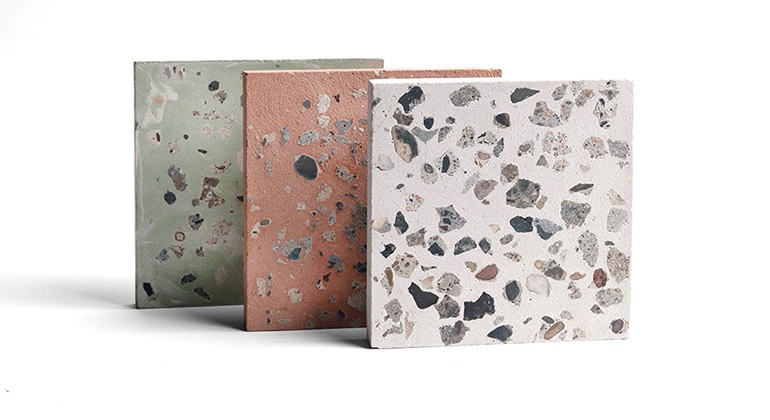 Recycled concrete material