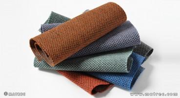 Materiale in lana vergine e riciclata