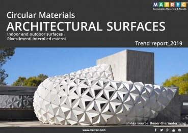 Sustainable: Circular materials for architectural surfaces