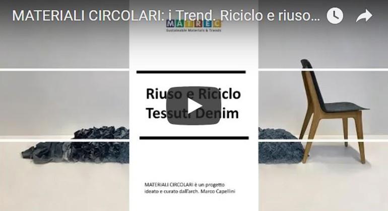 MATERIALI CIRCOLARI: I TREND – RICICLO E RIUSO DEI TESSUTI IN DENIM