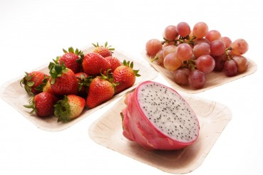 Piatti realizzati dagli scarti agricoli