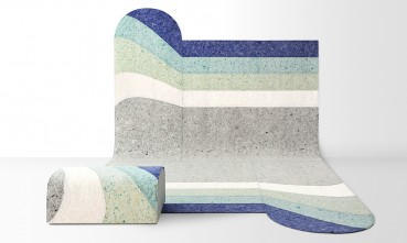 Rugs made of circular materials by Patricia Urquiola