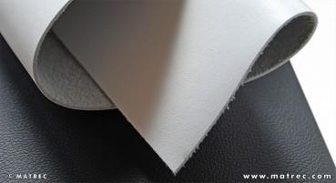 Materiale in pelle riciclata