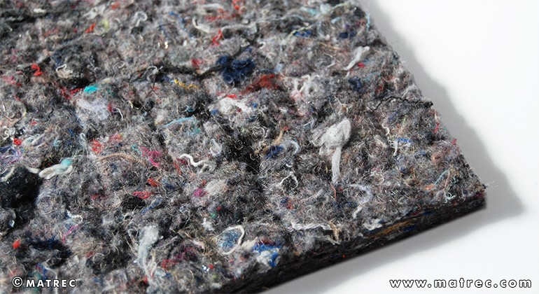 Textile waste material