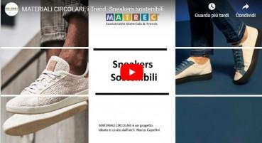 Sustainable:  MATERIALI CIRCOLARI: i Trend – Sneakers sostenibili