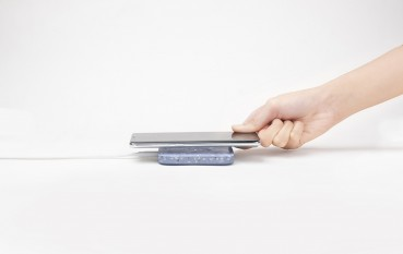 Wireless Charging Pad from the recycle of ceramic
