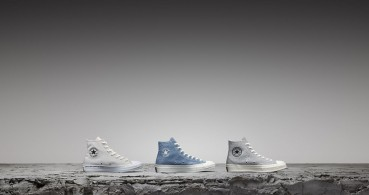 Circular materials in Converse shoes