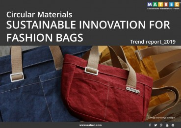 Circular materials: Sustainable innovation for bags and pochette