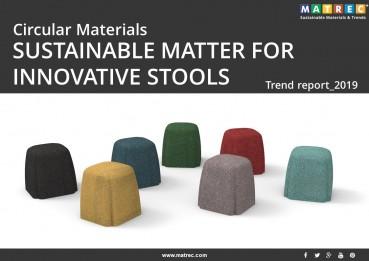 Sustainable: Materiali circolari: materiali sostenibili per sgabelli innovativi