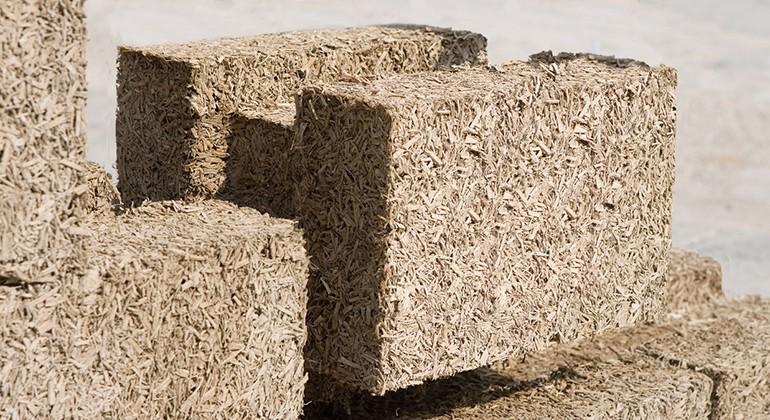 Hemp bricks