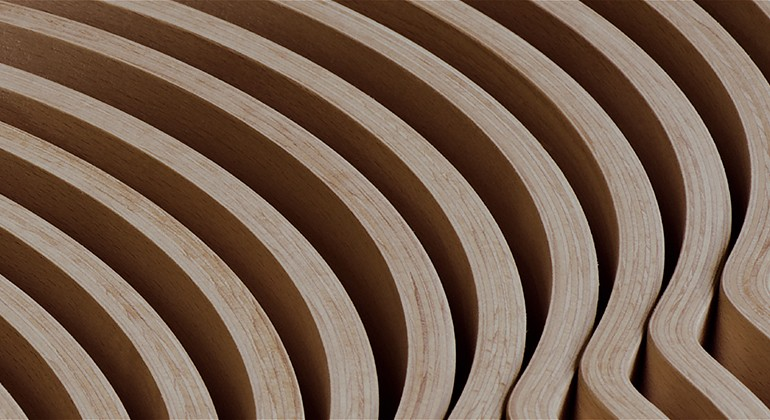 Moulded wood panel