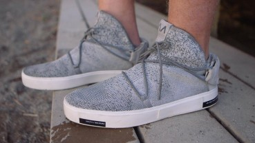 Shoes made of recycled oceans plastic