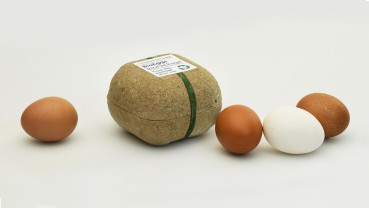 Sustainable packaging made of circular materials