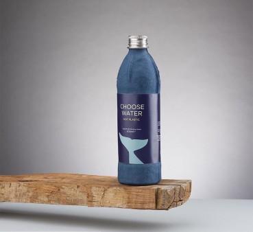 Sustainable alternative to the plastic bottle