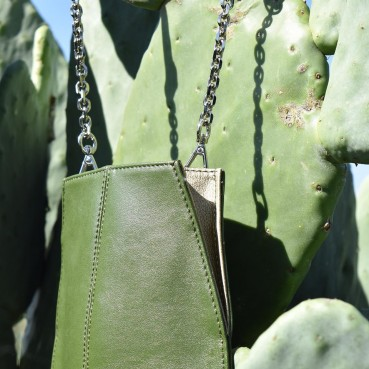 Innovative leather made with cactus leaves