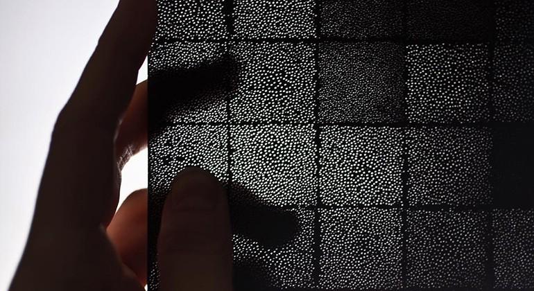 Rattan fibres panel