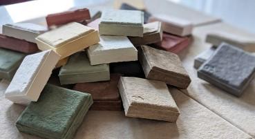Materiale in linters di cotone