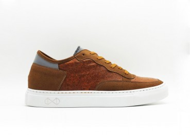 Sustainable sneakers made with red pepper