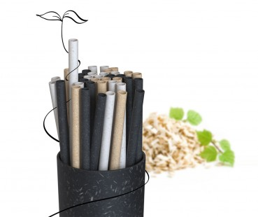 Biodegradable straws as an alternative to plastic