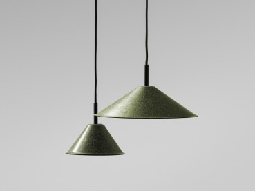 Lamps made from waste hemp, tobacco and wine