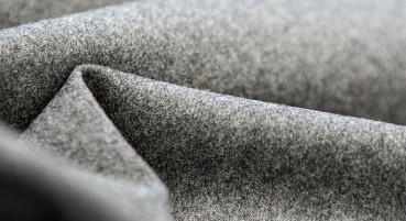 Tessuto in flanella di lana riciclata