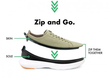 A new concept of sustainable footwear