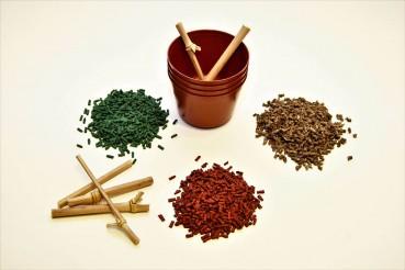 Biodegradable plant pots