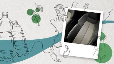 Audi: Coprisedili in materiali riciclati per la nuova A3