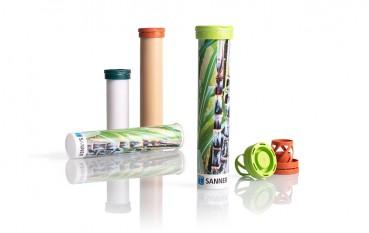 Bio-plastic packaging for medicines