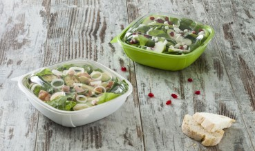 Disposable compostable food packaging