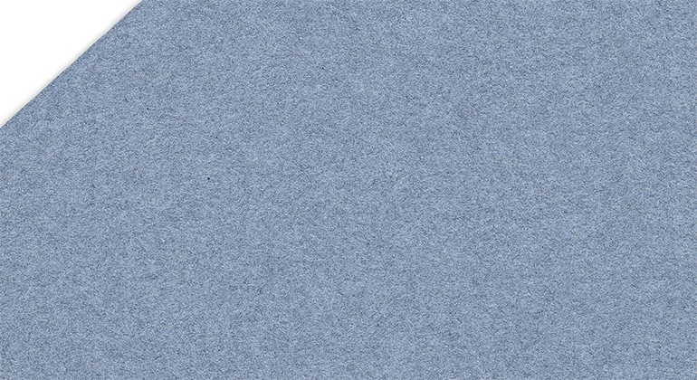 Paper made of recycled denim