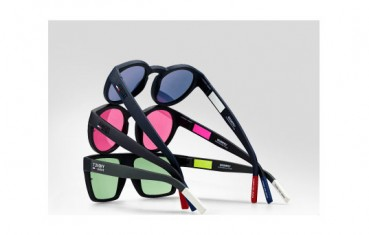 Safilo for Tommy Jeans sunglasses uses regenerated nylon