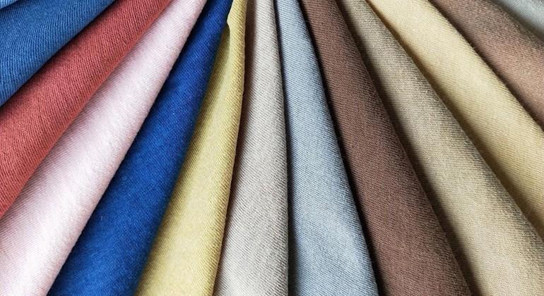 Cellulose fibres and organic cotton fabric