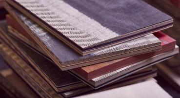 Realization of new laminated sheets with circular materials