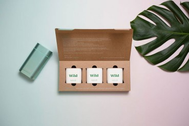Refillable packaging for cosmetic products made of circular materials