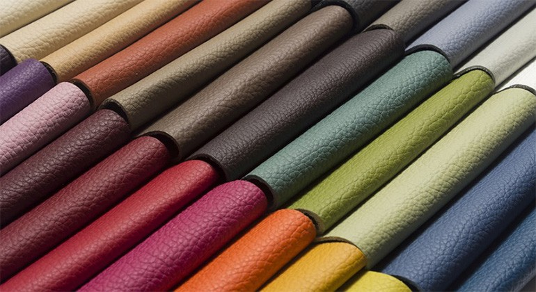 Recycled leather fibre material