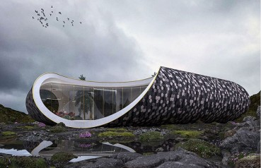 Sustainable architecture using natural and recycled materials
