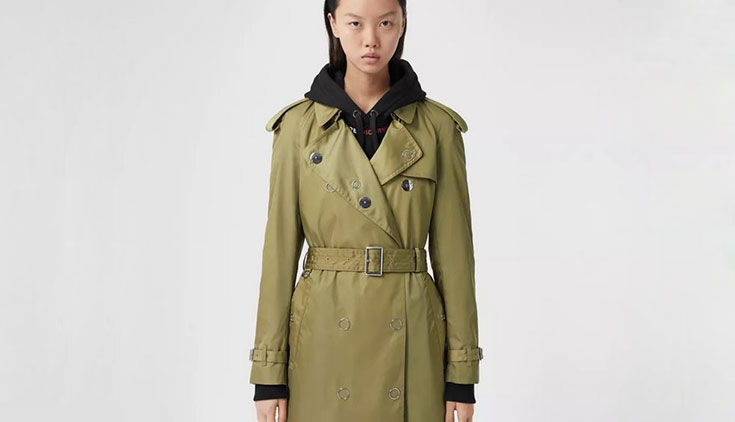 Capsule collection sostenibile di Burberry