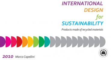 PUBBLICAZIONE INTERNATIONAL DESIGN FOR SUSTAINABILITY