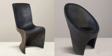 Reuse of cardboard for the realization of design chairs
