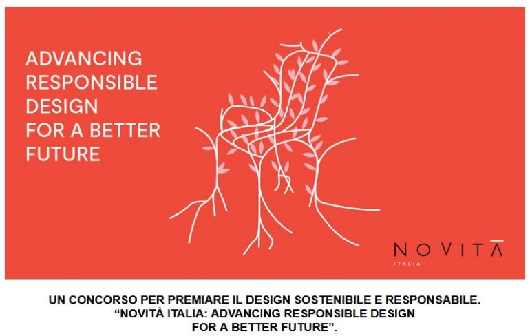 "(Italiano) CONCORSO ""NOVITÀ ITALIA: ADVANCING RESPONSIBLE DESIGN FOR A BETTER FUTURE"""
