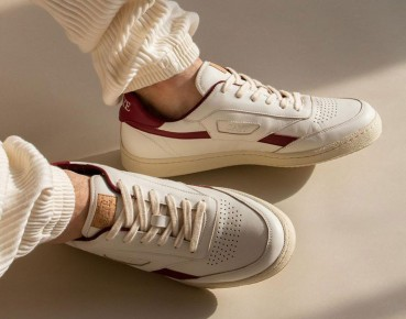 Footwear made from renewable and recycled materials
