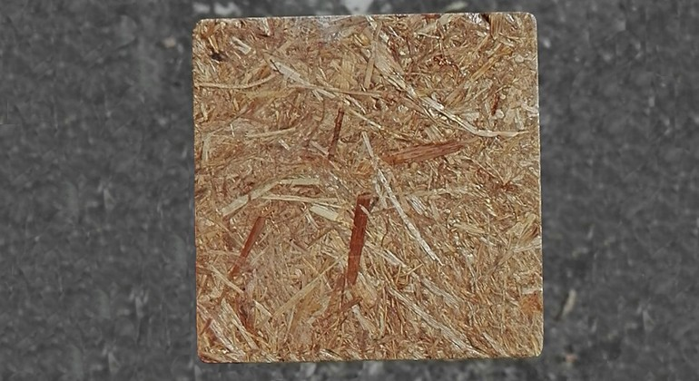 Rice straw material